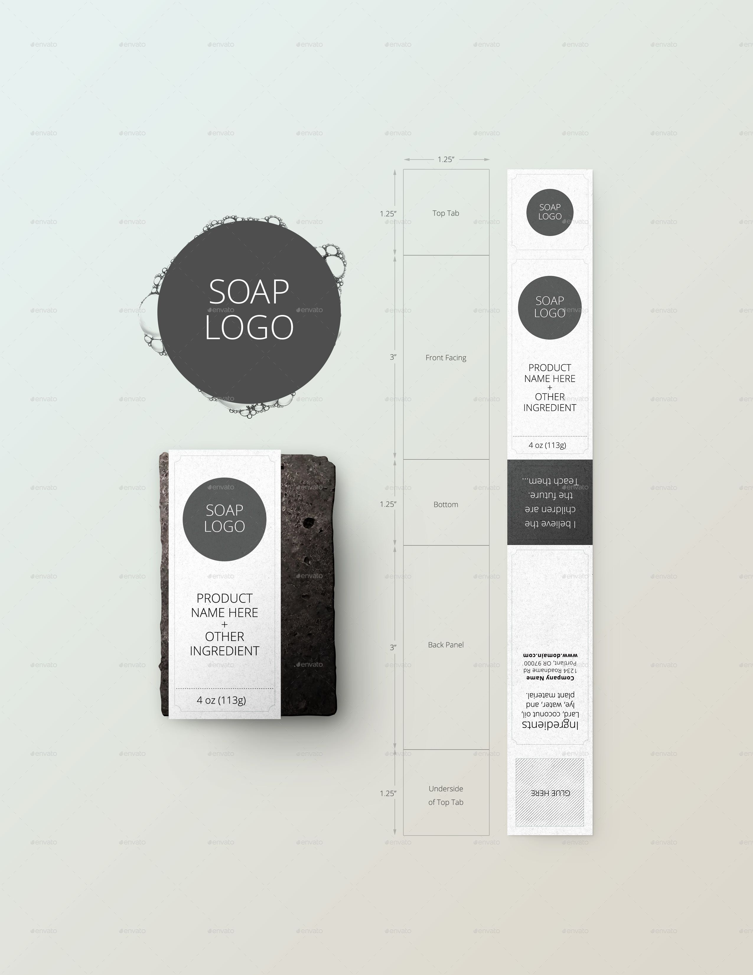 Soap Bar Package Tool And Mockup Preview Graphicriver đồ Chơi