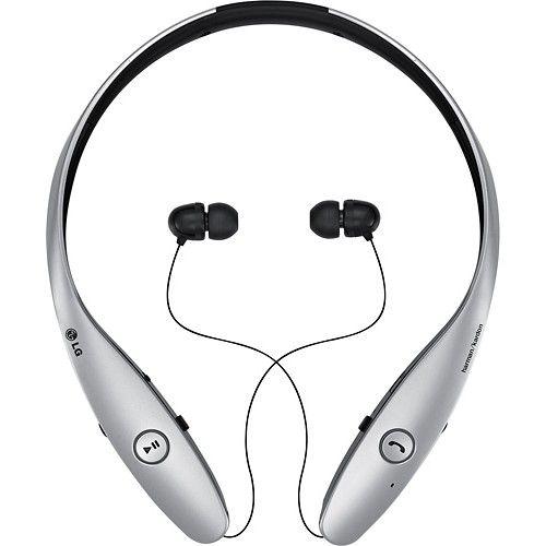 Best Buy Lg Tone Infinim Wireless Earbud Headphones Metallic Silver Hbs 900 Acussvi Bluetooth Headset Bluetooth Stereo Headset Wireless Speakers Bluetooth