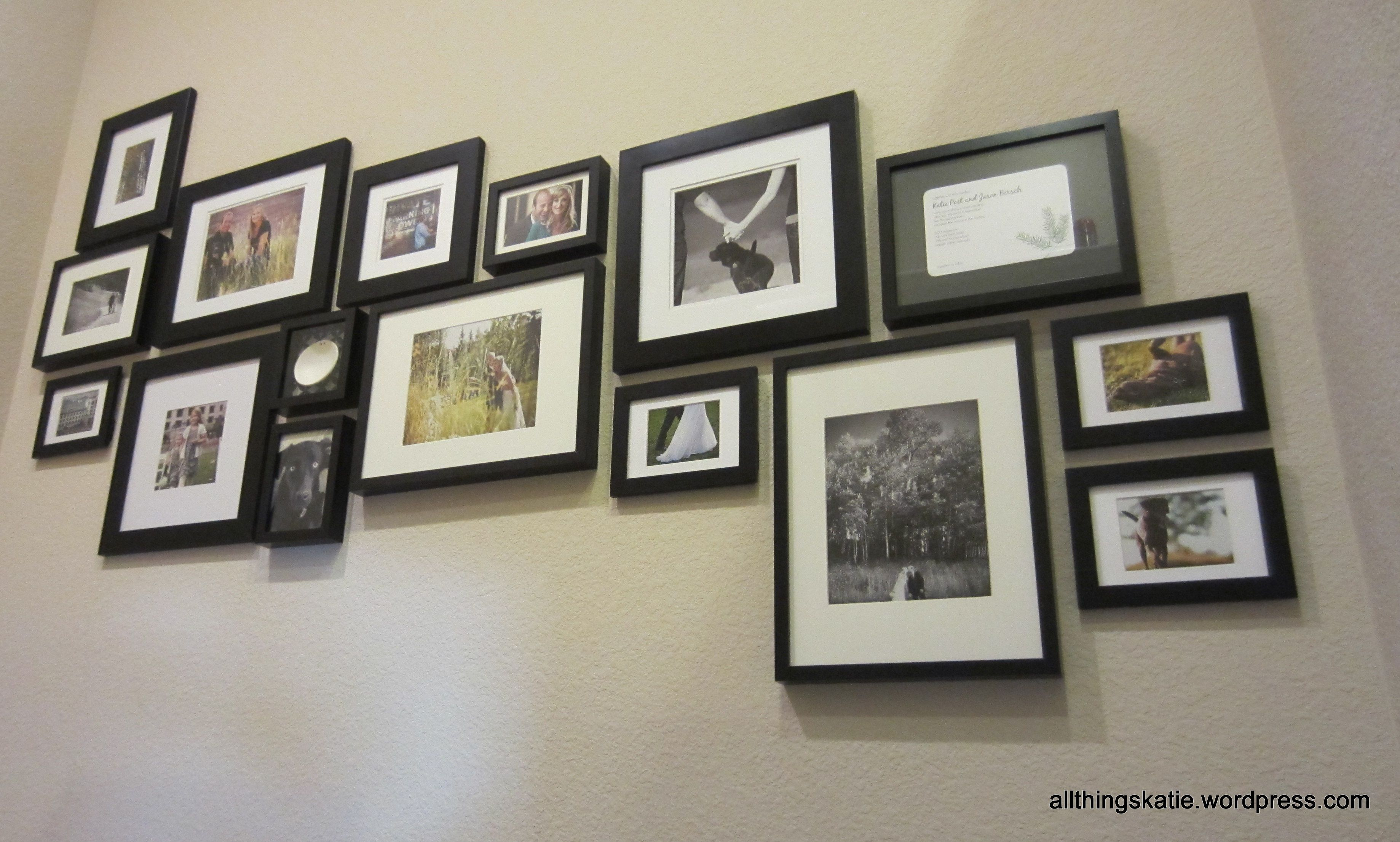 Project: Revamped Stairwell Picture Collage   Wohnen