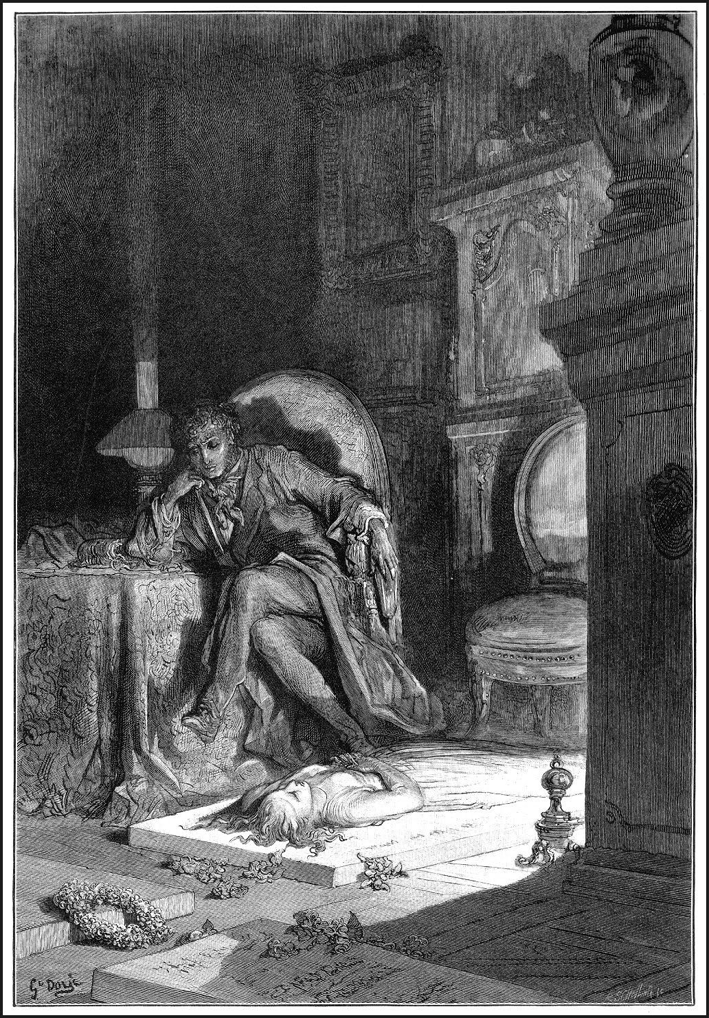 Gustave Dore The Raven