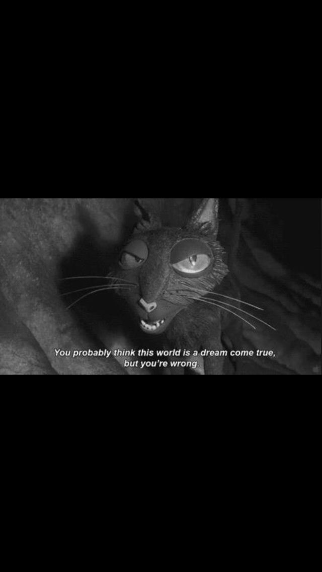 Pin By Ains On Coraline Coraline Movie Coraline Cat Coraline Quotes