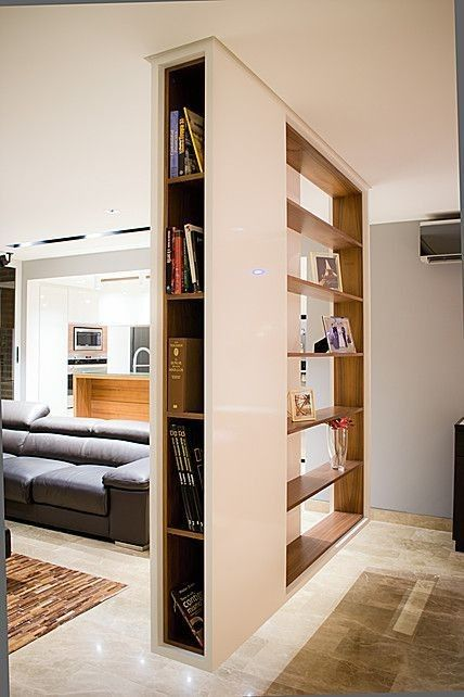 Pin By K On Inrichting Living Room Partition Design Room