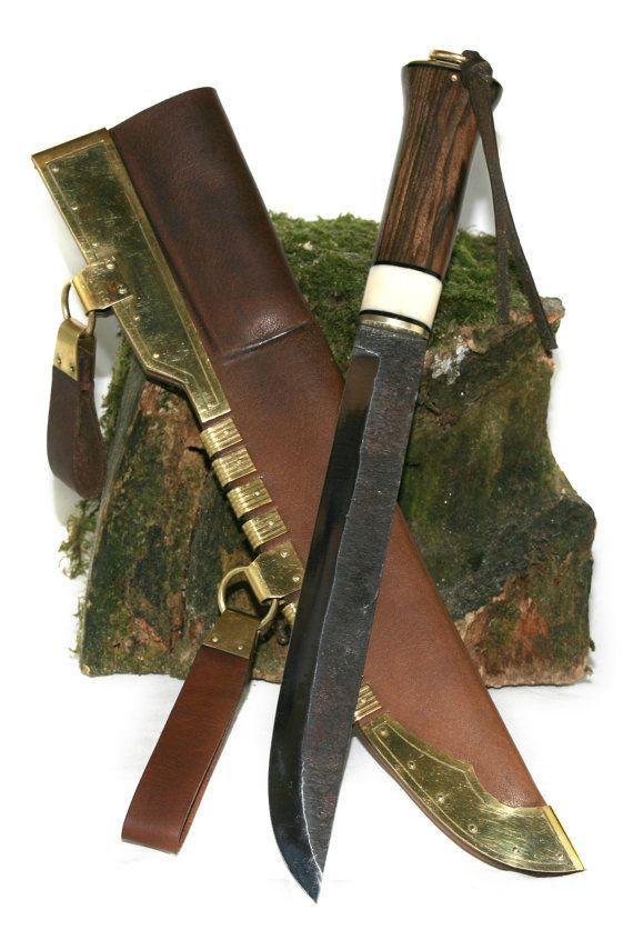 Large Gotland Viking Knife by GallGaelCrafts on Etsy