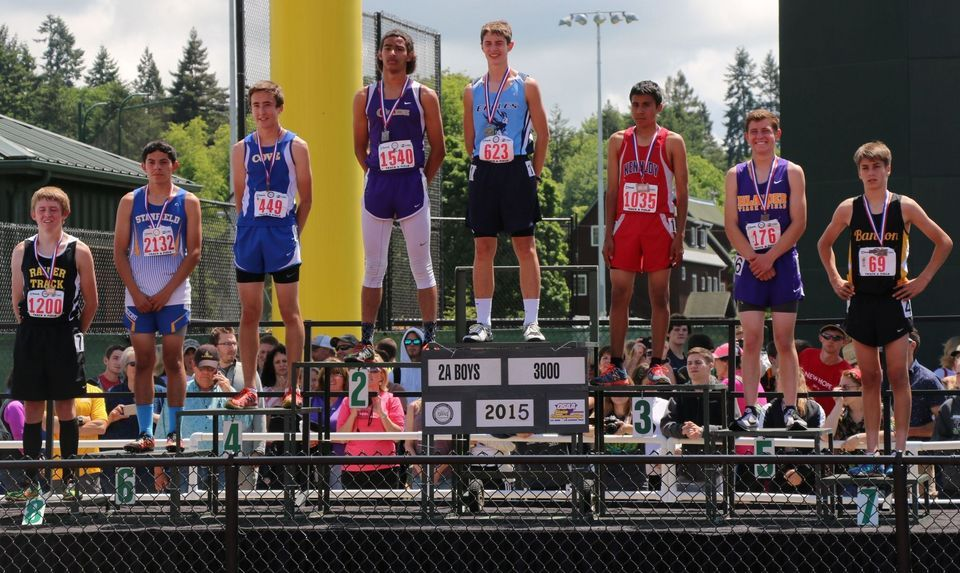 Class 2A OSAA boys track and field championship meet