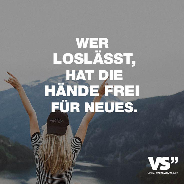 Wer loslässt, hat die Hände frei für Neues