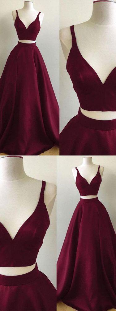 Grauer Chiffon Halfter Lange Ballkleider mit Perlen Homecoming Abendkleid für Mädchen #branddresses