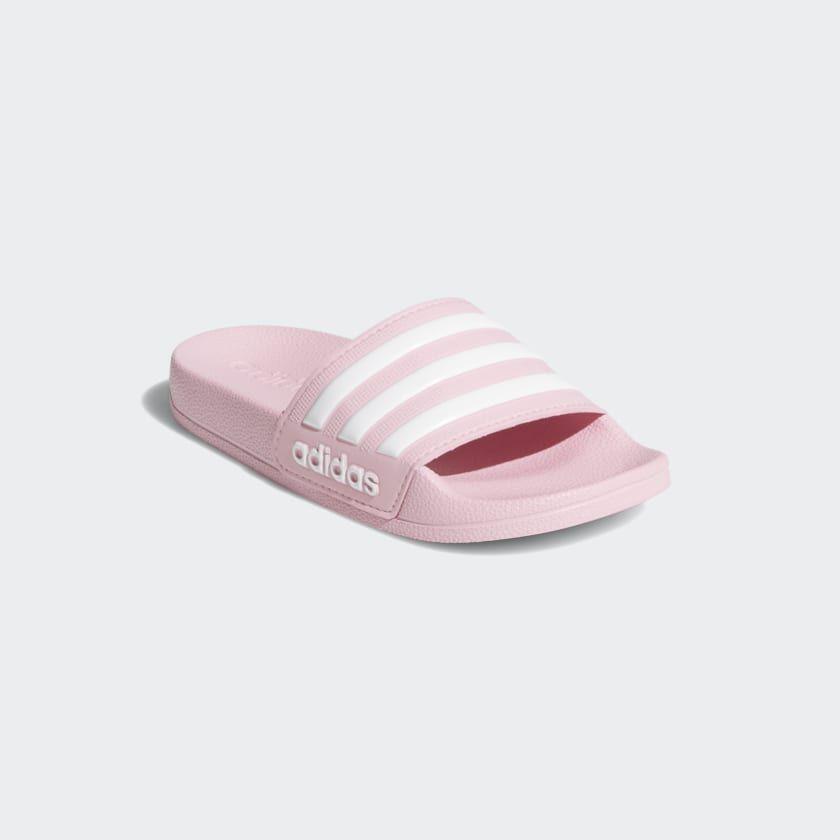 51deff883 Adilette Shower Slides True Pink   Cloud White   True Pink G27628 Pink  Adidas