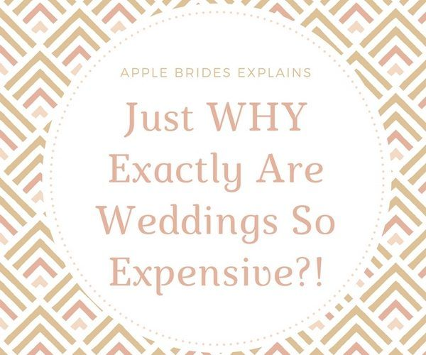 Just WHY Exactly Are Weddings So Expensive? | Budget ...