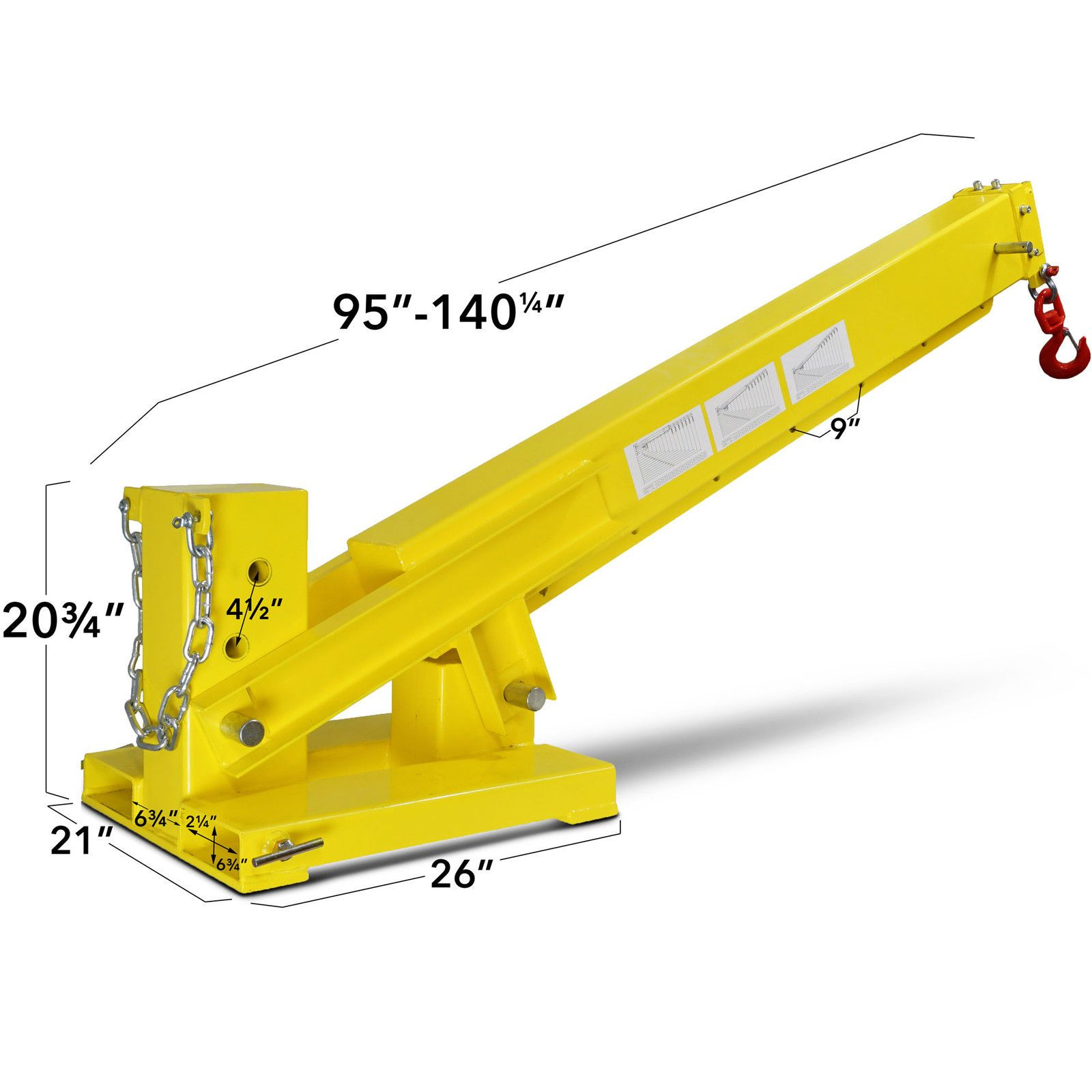 Titan 3-in-1 Forklift Mounted Hitch