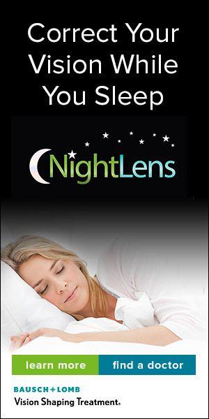 Orthokeratology Correct Your Vision While You Sleep Eye Care Eye Health Contact Lenses