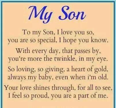 For My One And Only Son Love You Always And Forever Marriage And