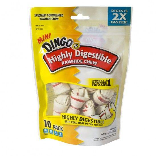 Dingo Highly Digestible Mini Rawhide Treats 5.99