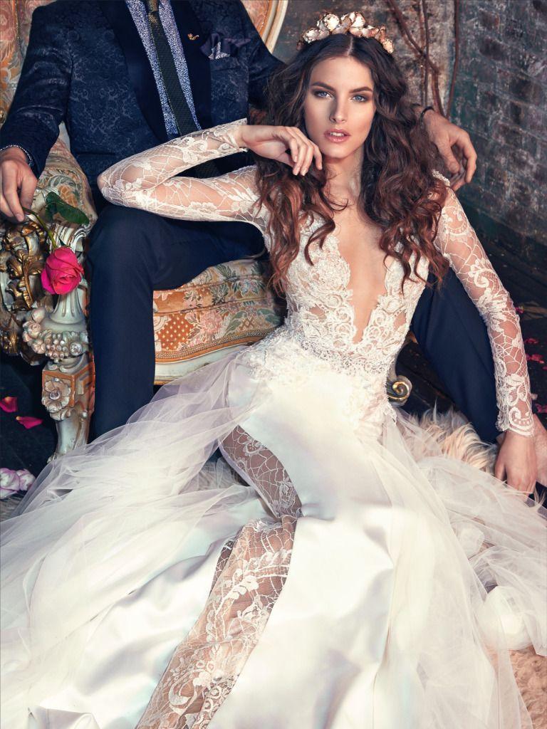 Sheer wedding dress  Galia Lahav Wedding Dresses  Les Reves Bohemians  Galia lahav