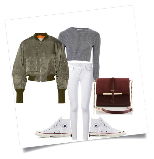 """""""hsh"""" by ntimarkuxxx on Polyvore featuring Frame Denim, Converse, Glamorous and 3.1 Phillip Lim"""