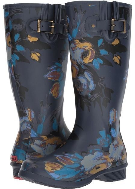 bf4eef877 Who says you can't look cute when the weather is bad? <3 Free shipping!  #affiliate Chooka - Nina Tall Boot Women's Rain Boots #zappos