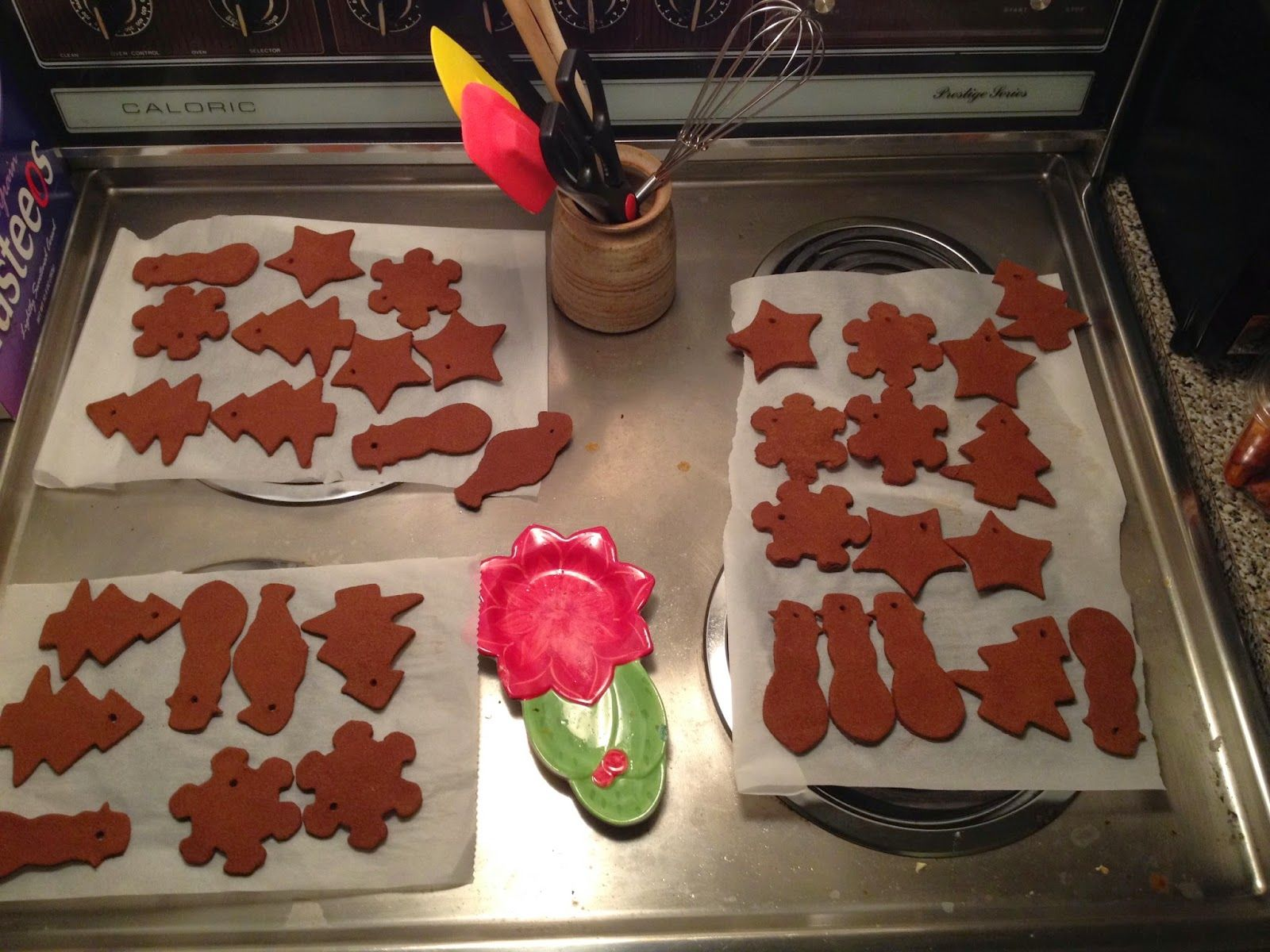 Festively Fragrant - Cooking Isnt Procrastinating  Homemade Cinnamon Ornaments