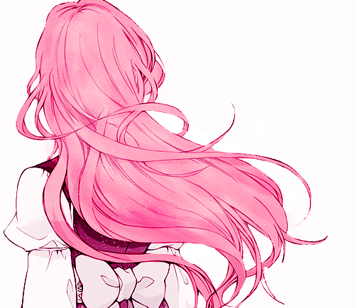 pink hair, anime, and art image | bn | Pinterest | Anime, Pink ...