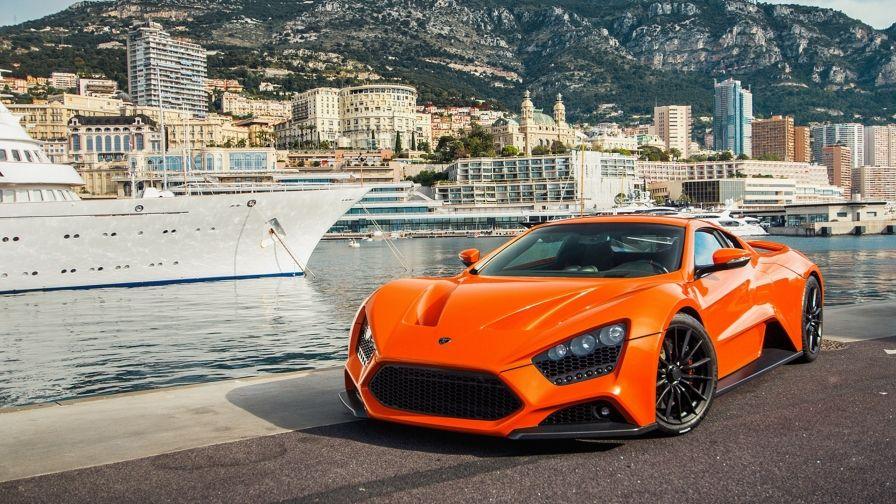 Orange Car Wallpaper Super Cars Zenvo St1 Expensive Cars