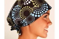 How To Make A Bouffant Surgical Cap 4 Steps Ehow Scrub Hat Patterns Sewing Hats Scrub Caps Pattern