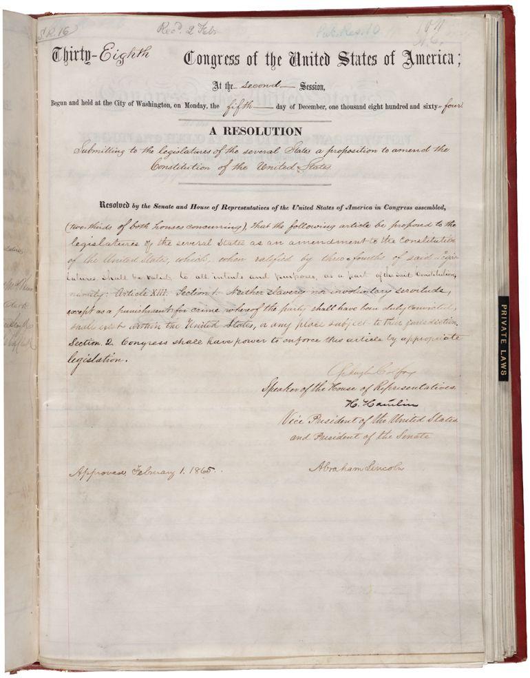 Constant 13th Amendment Essay - image 10