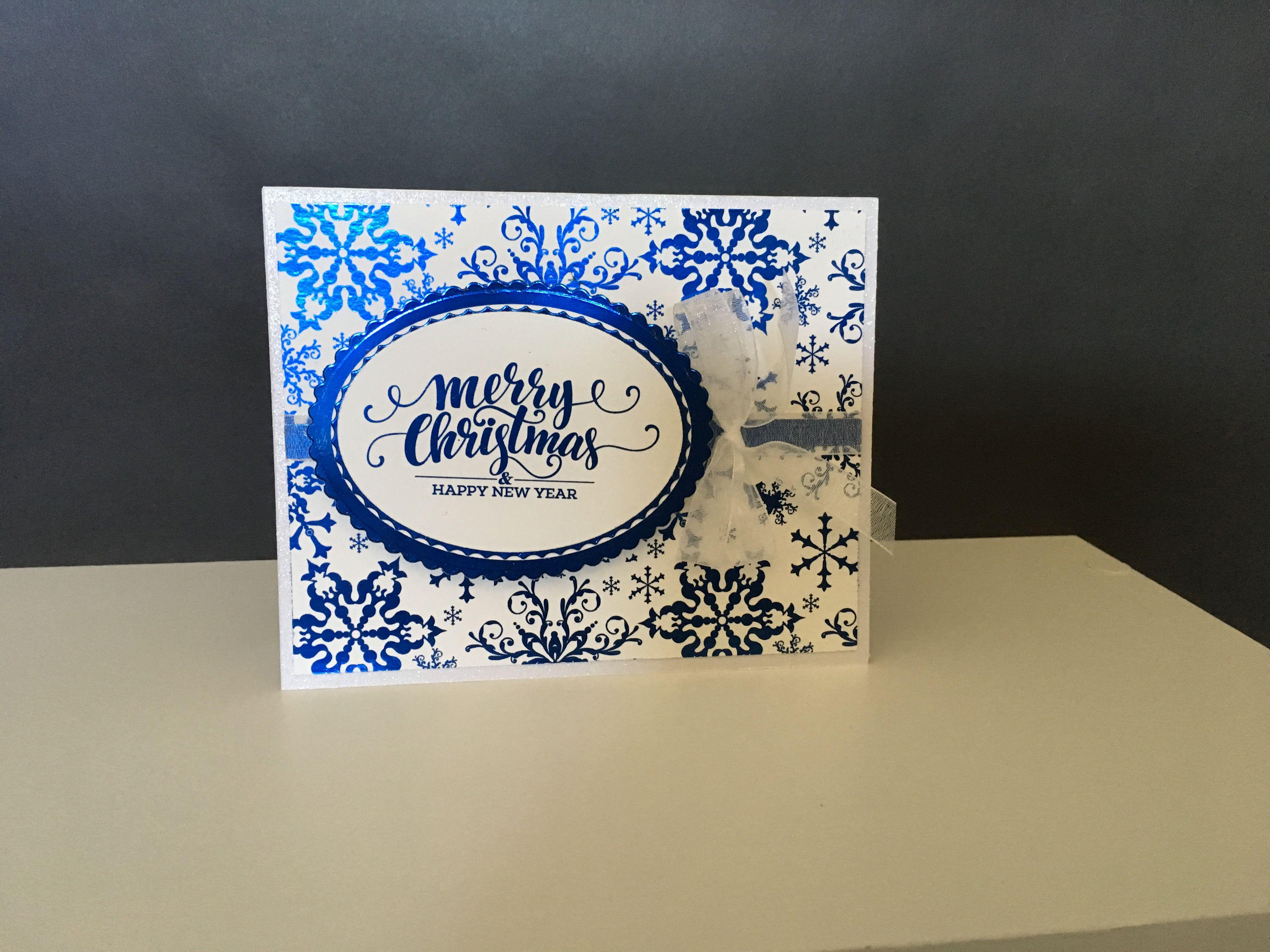 Card Making Ideas Gina K Part - 44: Christmas Card Using Gina K Designs Foil Mates