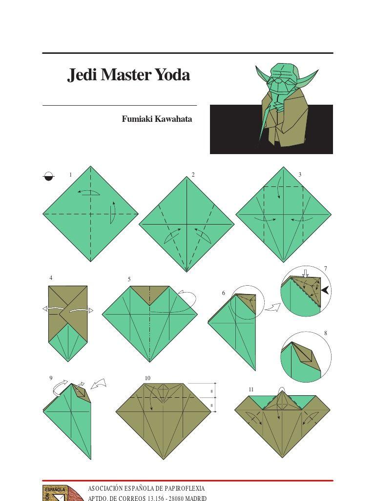 origami star wars darth vader instructions
