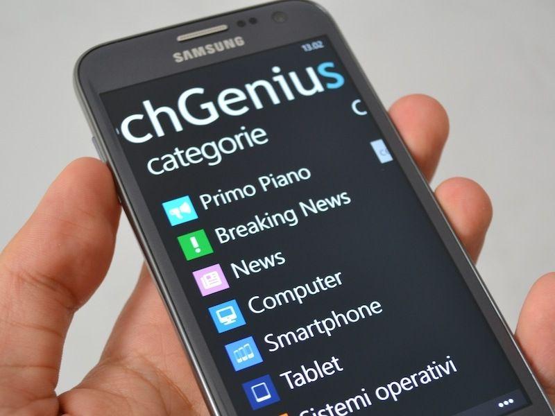 L'applicazione ufficiale TechGenius per Windows Phone in tutto il suo splendore. Disponibile gratuitamente sul Windows Phone Store -> http://www.windowsphone.com/it-it/store/app/techgenius/cf10b...