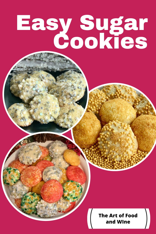 Easy Drop Sugar Cookies Recipe in 2020 Easy drop sugar