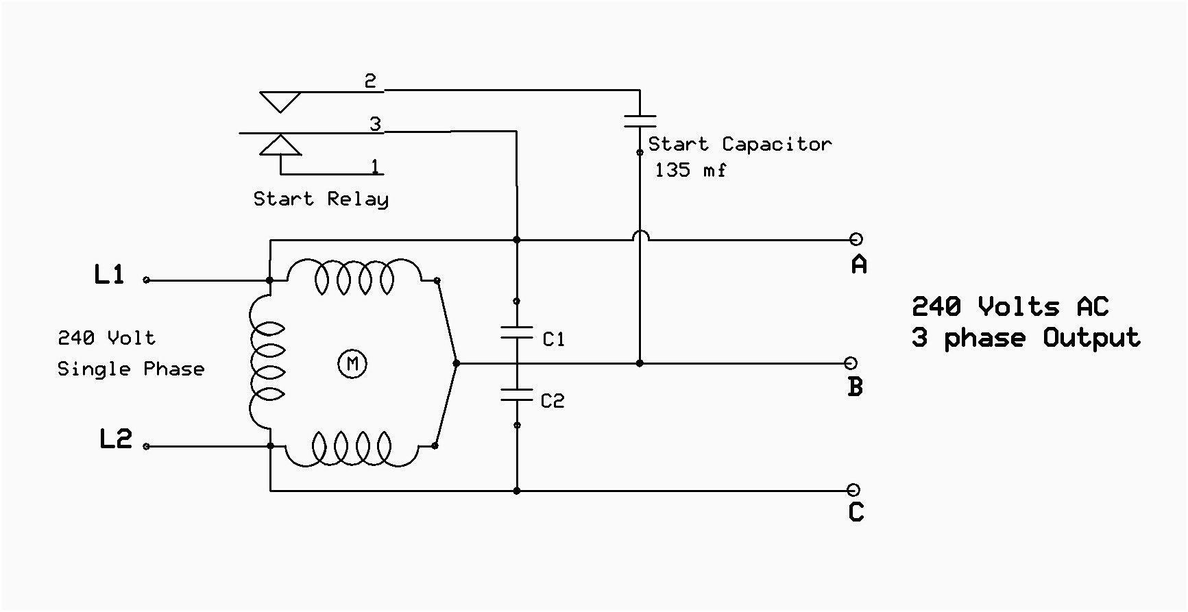 480v 3 Phase Motor Wiring Diagram Elegant In 2020 Electrical Diagram Diagram Capacitors