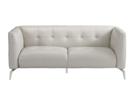 Sunpan - MILANO LOVE SEAT  * Comes in black, brown, white, gray  	ITEM DIMENSION	  67L x 36W x 28H inches   ARM HEIGHT	28 inches  SEAT HEIGHT 16.5 inches