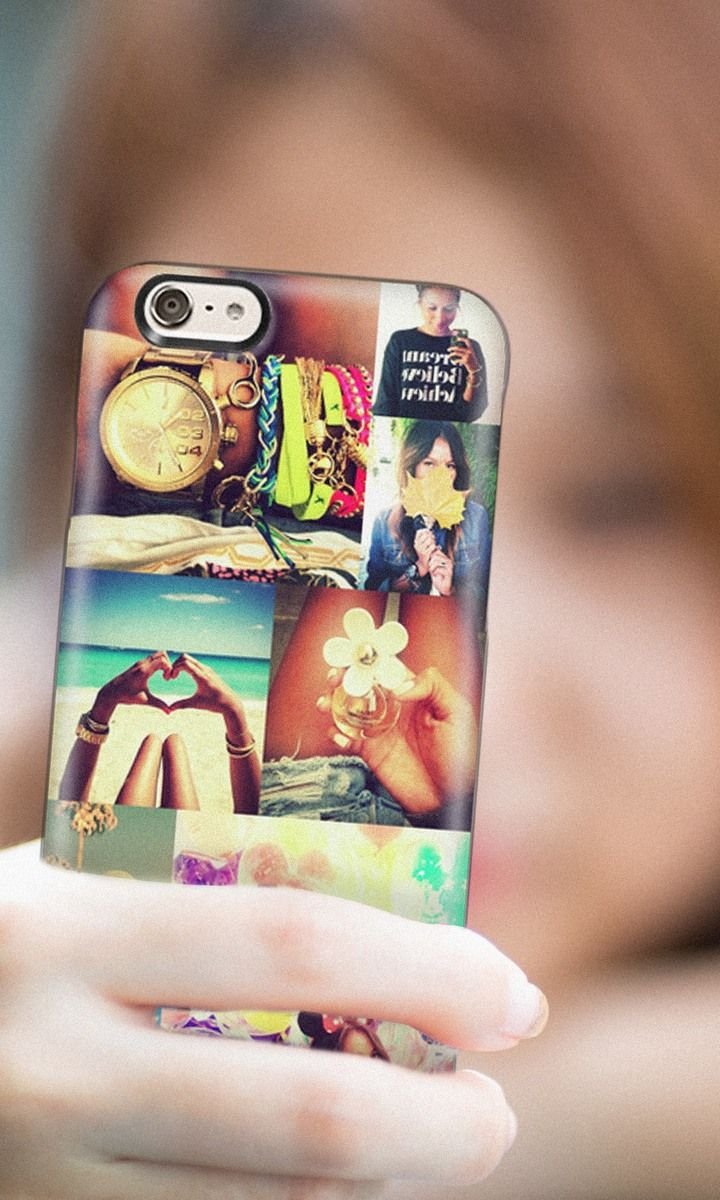 Turn your favorite Instagram and Facebook photos into custom iPhone 6 and iPhone 6 plus cases and Samsung cases at Casetify