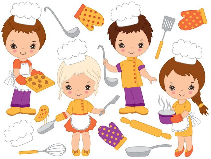 70 OFF SALE Baking Kids Clipart