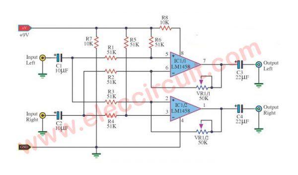 Surround Sound System Circuit Diagram   Surround sound ...