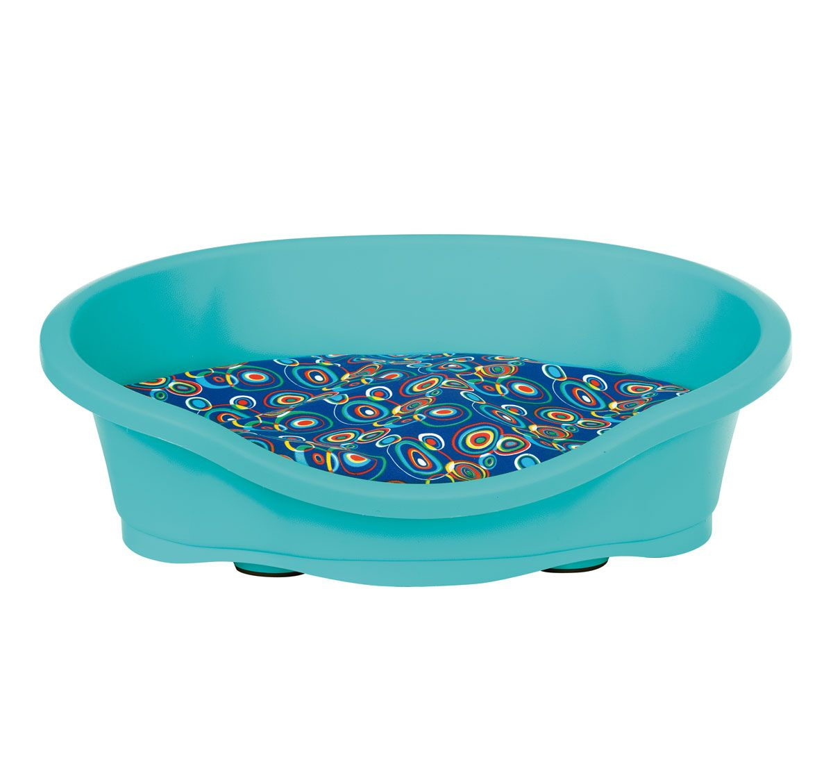 IMAC Dido 50 Tub With Cushion For Dog & Cat - Turquoise - (LxWxH ...