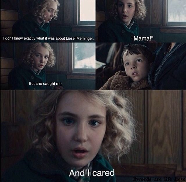 The Book Thief Death Quotes About Humans: This Is The Very First Scene Where Liesel's Brother Died