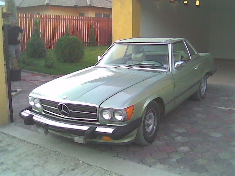 Mercedes W107 450SL (1973) Original Condition