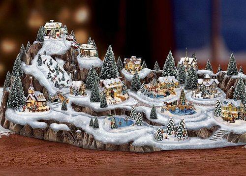 Thomas Kinkade Christmas Village 2020 Thomas Kinkade Christmas decoration in 2020 | Thomas kinkade