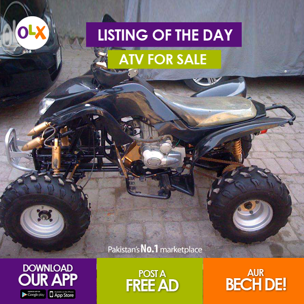 Spotted On Olx This Funky Atv That Would Make For A Great Ride