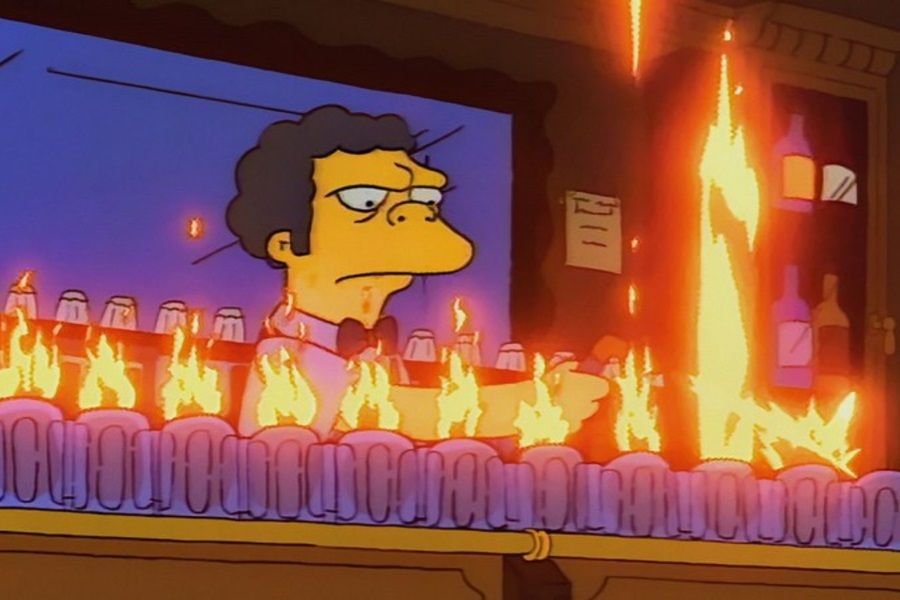 A Pop Up Flaming Moe S Simpsons Bar Is Coming To Australia Man Of Many The Simpsons Cocktails To Make At Home Cocktail Making Are you looking for suitable hotels in moe? a pop up flaming moe s simpsons bar