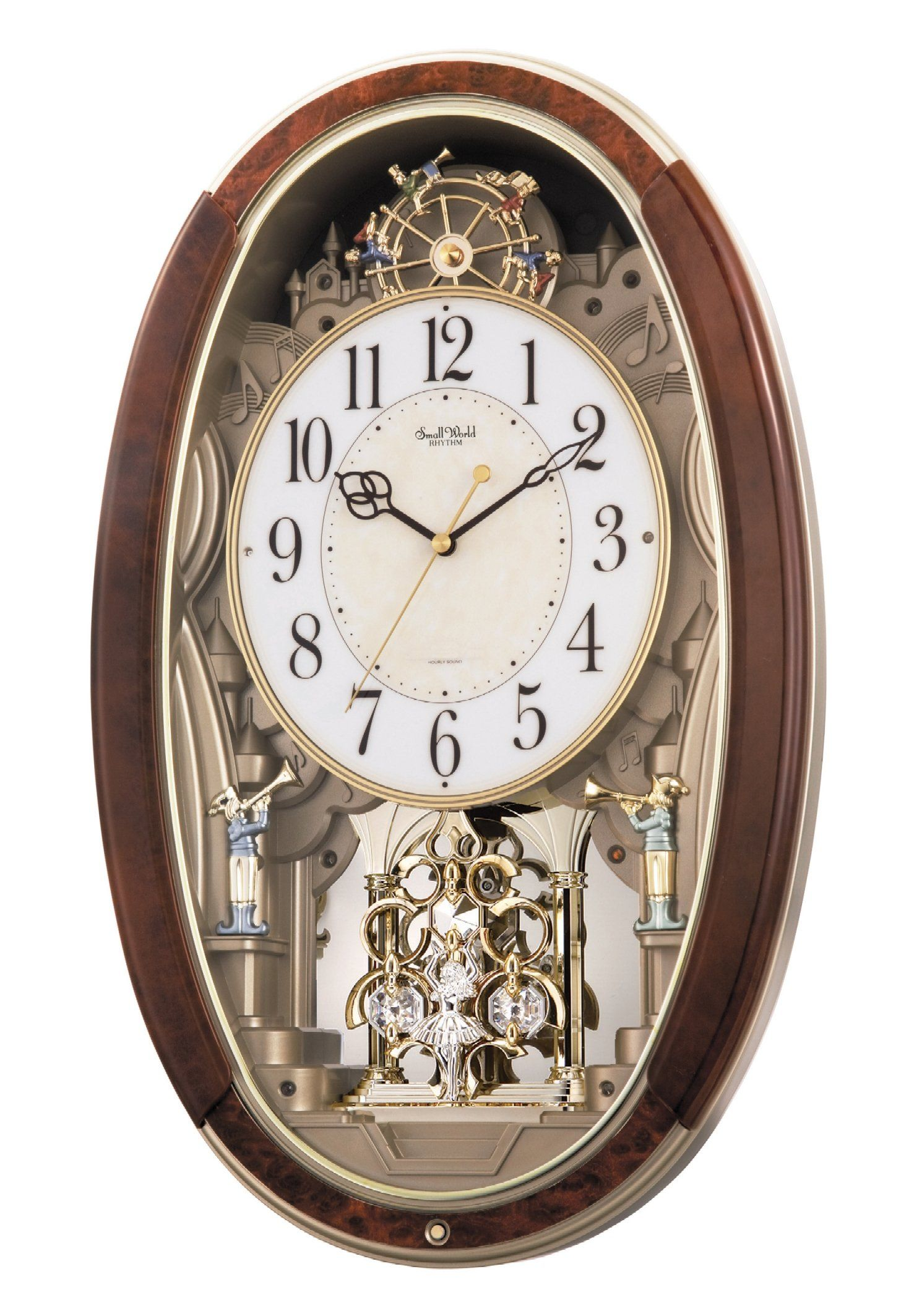 Rhythm Clocks Trumpet Boys Musical Motion Clock More Details Can Be Found By Clicking On The Image Clocks Pendulum Wall Clock Wall Clock Clock