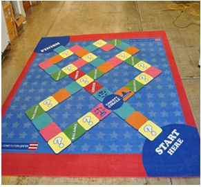 Custom Printed Carpet Exhibit Flooring Display Flooring And Tradeshow Flooring Printed Carpet Carpet Custom Print