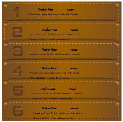 Raffle Ticket Template 11 Raffle Ticket Templates for Word - free raffle ticket template
