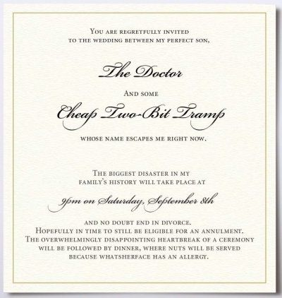 HA - stumbled upon this while looking for invitation wording makes - invitation wording ideas for dinner party