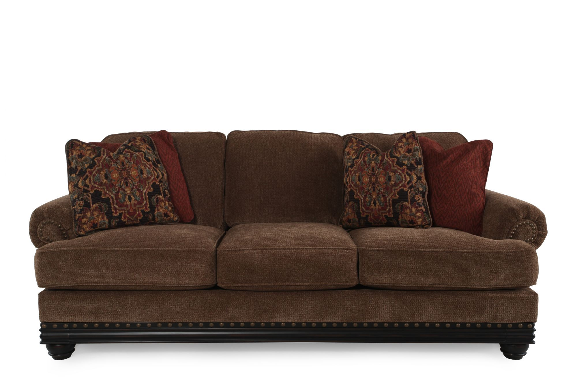 Ashley Elnora Umber Sofa Mathis Brothers Furniture