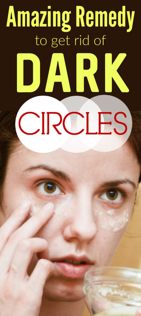 She applied this paste and removed dark circles in just 1 night #darkcircle