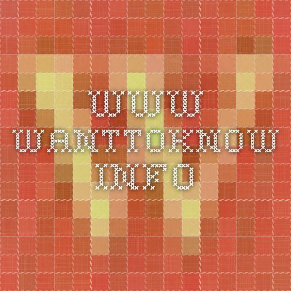 www.wanttoknow.info