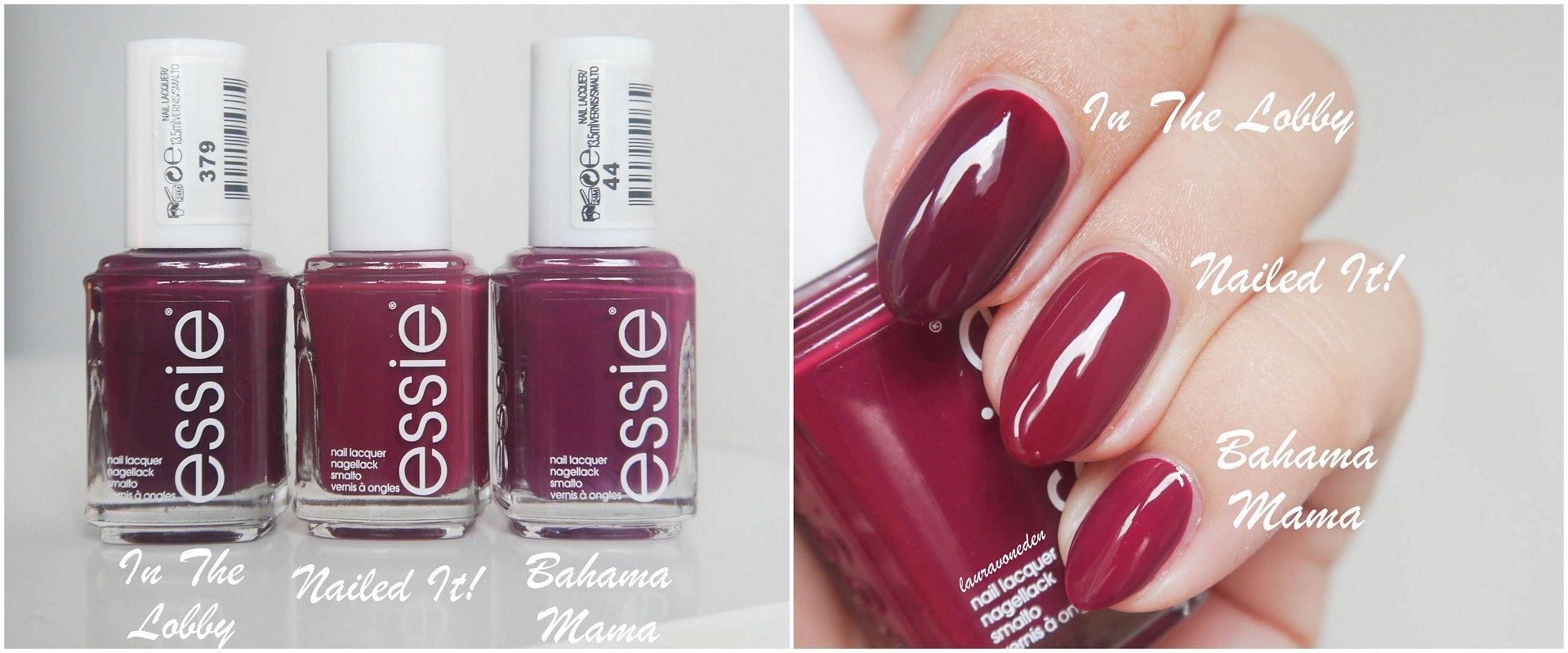 Essie – Laura von Eden | Nagel Farben | Pinterest
