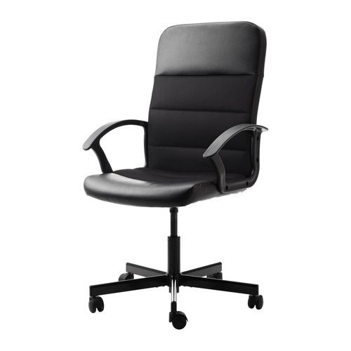 Black Desk Chair a desk chair, the one piece of furniture that you are allowed to