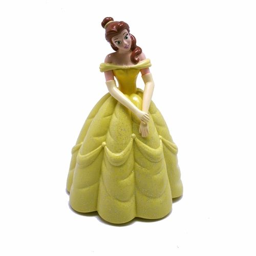 """Disney Princess Belle Piggy Bank.  This piggy bank is 7"""" tall and made of a soft plastic. $15.99"""
