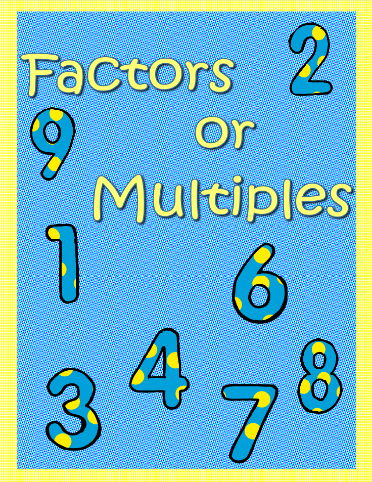 Factors or multiples pinterest factors venn diagrams and maths factors or multiples ccuart Image collections